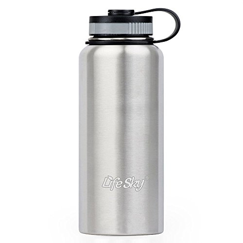 LifeSky Stainless Steel Sports Bottle product image
