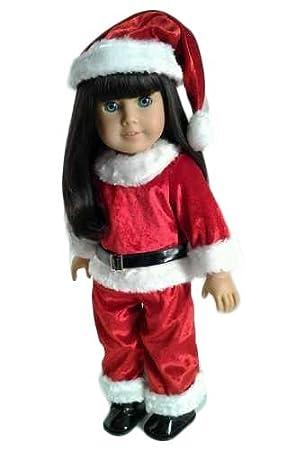Christmas Santa Suit for American Girl Dolls