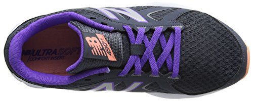 New Balance 490v4, Zapatillas Deportivas Para Interior Para Mujer Multicolor (Thunder/Alpha Violet/Bleached Sunrise)
