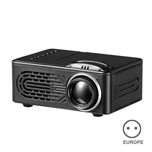 MongKok HD 1080P LED Mini Projector Portable 3D Home Theater AV USB Built-in Speaker