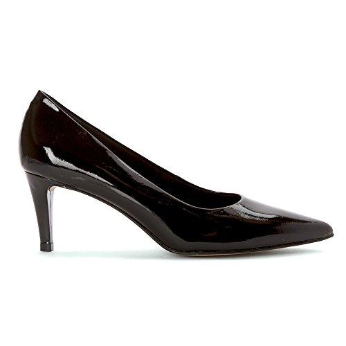 Leather Women's Sophia Cradles Patent Pump Walking Black AaFxq