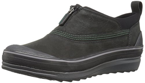 Clarks Women's Muckers Ruck Rain Shoe, Black Nubuck, 6.5 M US by CLARKS