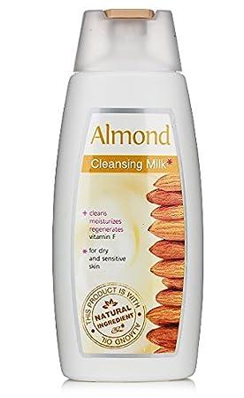 Leche limpiadora almendra para piel seca y sensible: Amazon ...