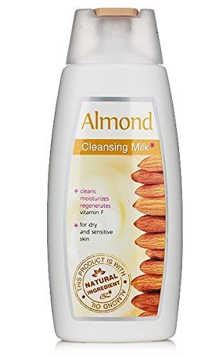 Leche limpiadora almendra para piel seca y sensible
