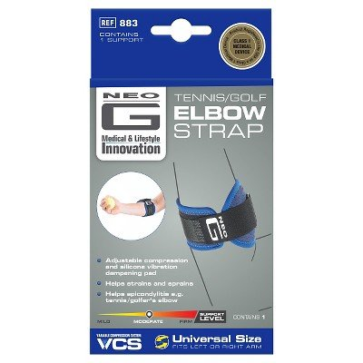Neo G Tennis/Golf Elbow Strap - One Size BLUE by Neo-G