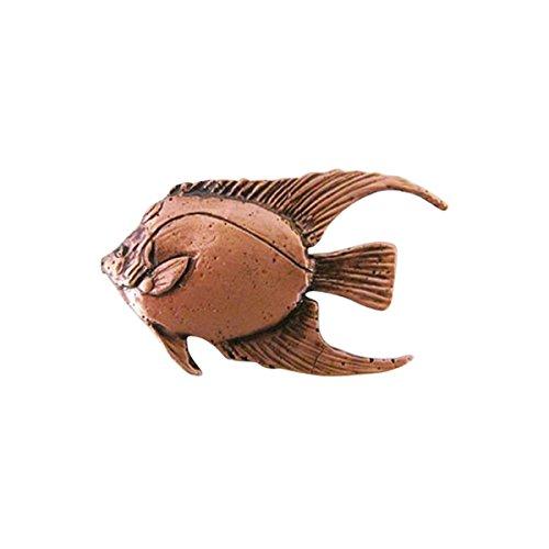 - Angel Fish Adult ~ Lapel Pin/Brooch ~ CWG-SC081 ~ Copper