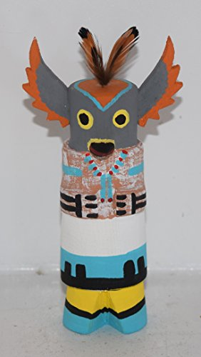 Grace Pooley Collectible Route 66 Hopi Owl Kachina (Owl Doll Kachina)