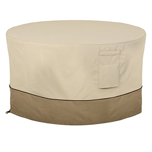 Classic Accessories 55-465-011501-00 Veranda Round Fire Pit/Table Cover, 42-Inch