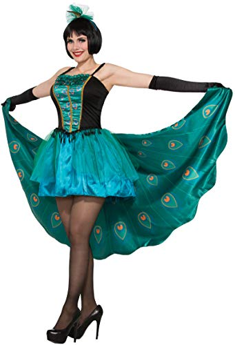 Forum Women's Pretty in Peacock Adult Costume, as Shown, Standard