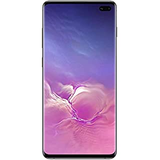 Samsung Galaxy Cellphone - S10+ Plus AT&T Factory Unlock (Black, 128GB) (Renewed)
