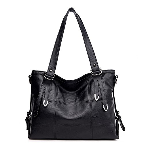 Womens Top Handle Satchel Handbags Bag Shoulder Hobo Messenger Bag Tote Purse - Charm Hobo Bag