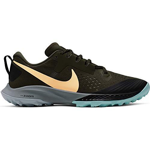 Nike Air Zoom Terra Kiger 5 Women's Running Shoe Cargo Khaki/Team Gold-Black-Jade Stone 6.5 (Terra Gold)
