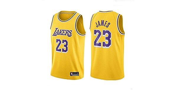 Camiseta De Baloncesto Para Hombre-NBA Lakers # 23 Lebron James (Lebron James) Camiseta De Baloncesto De Malla Para Fan Edition, Los FanáTicos Leales No Deben Perderse: Amazon.es: Bricolaje y herramientas