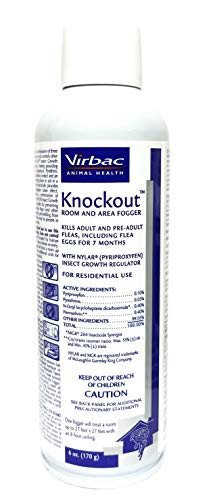 Virbac Knockout Room Fogger, 6 oz