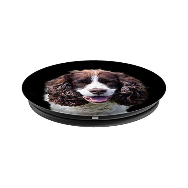 English Springer Spaniel Dogs Cute Dog Lovers Mom Dad Gift PopSockets Grip and Stand for Phones and Tablets 2