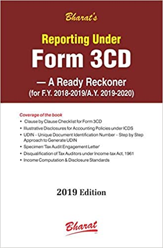Reporting under FORM 3CD – A Ready Reckoner