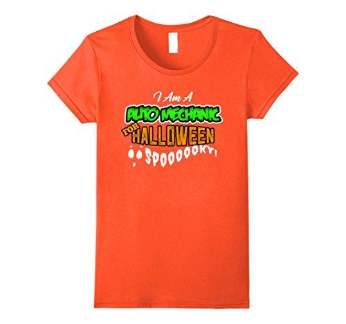 Auto Mechanic Halloween Costume (Womens Auto Mechanic DIY Cheap Halloween Costume Supplies Car Large Orange)