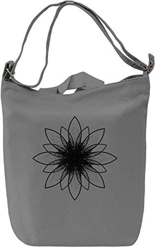 Ornament Borsa Giornaliera Canvas Canvas Day Bag  100% Premium Cotton Canvas  DTG Printing 