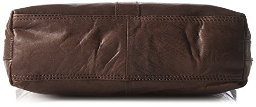 Spikes & Sparrow Pouch, Borse a tracolla Donna Marrone (Dark Brown)