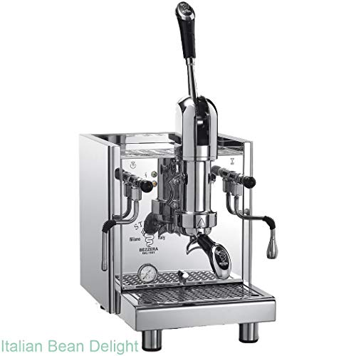 Tank Machine Commercial Espresso (Bezzera Strega Commercial Espresso Lever Machine Switchable Tank or Plumbed for Restaurant)