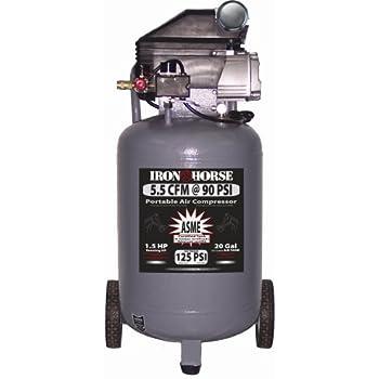 Amazon Com Iron Horse Ihvp1520l 20 Gallon 125 Psi Max
