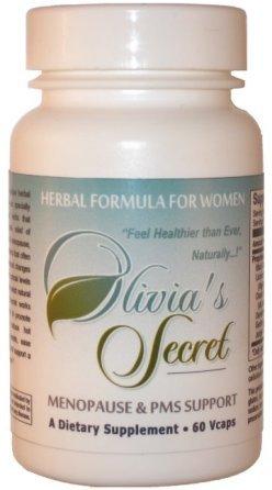 Secret Herbal Formula Olivia pour la ménopause et le syndrome prémenstruel (60 capsules)