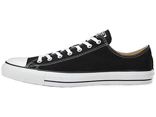 Converse Unisex Chuck Taylor All Star OX Sneaker (5 D(M) US, Black)