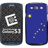 Cellet Black Proguard Case with Alaska Flag for Galaxy S 3