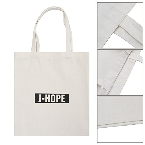 Bag BTS Kpop Bag Shoulder Tote Boys Bangtan 1 Messenger Black Canvas Canvas Yuxareen Bag Printed 5zxdqw5C7
