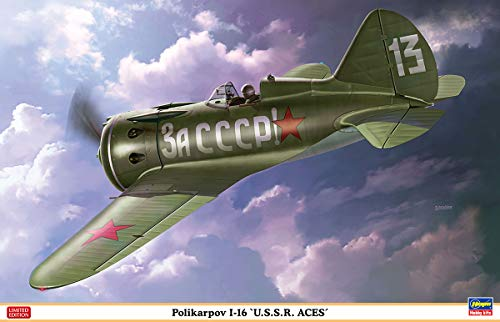 Used, HAS08256 1:32 Hasegawa Polikarpov I-16 'USSR Aces' for sale  Delivered anywhere in USA
