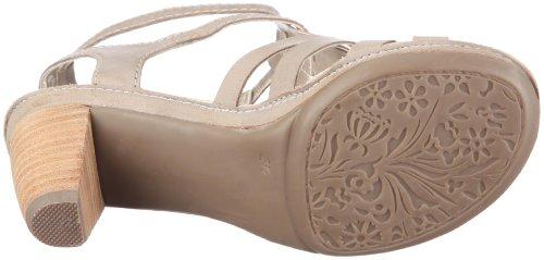 ara Rosso 34678-06 - Sandalias de vestir de cuero para mujer Gris