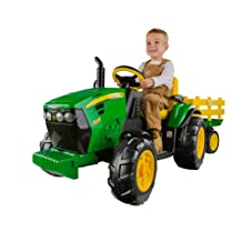 Peg Perego IGOR0039 John Deere Ground Force Tractor with Trailer