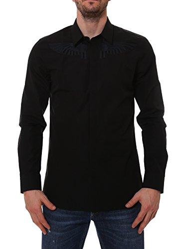 Givenchy Herren 17S6038300001 Schwarz Baumwolle Hemd