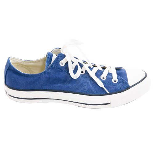 Converse All Star Speciality Ox Mens Shoes In Blue 122028. Ensign Blue 5sqRIVss