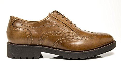 Nero Giardini Francesine Leder 9280 A719280 Braunes Leder Marrone