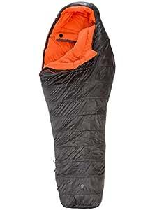 THE NORTH FACE Schlafsack Dark Star - Saco de dormir momia para acampada, color gris, talla L