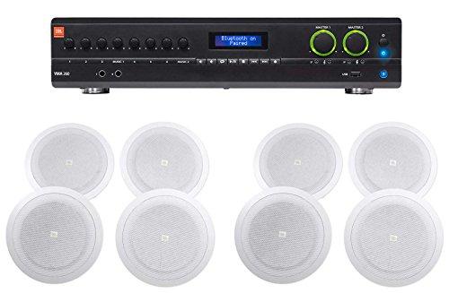 JBL VMA260 60w 8-Input Amplifier+(8) 8