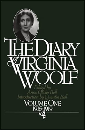 Image result for diary virginia woolf volume 1