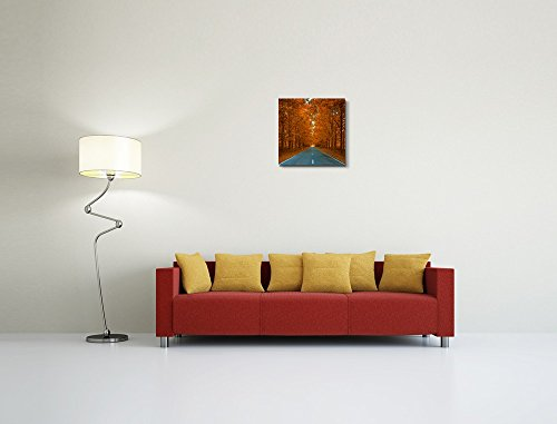 Autumnal Alley Beautiful Leaves Home Deoration Wall Decor ing