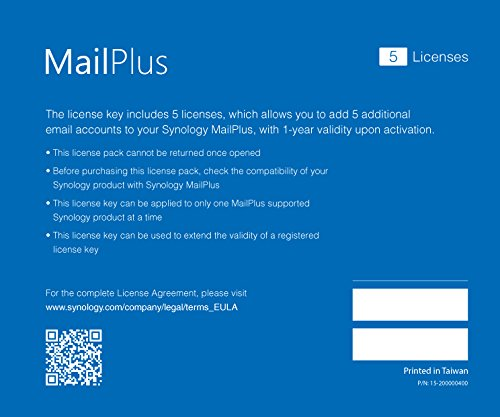 Synology Mail Server (MailPlus 5 Licenses) by Synology (Image #2)