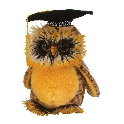 TY Smartest the 2003 Graduation Owl Beanie Baby by TY: Toys & Games