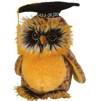 TY Smartest the 2003 Graduation Owl Beanie Baby by TY
