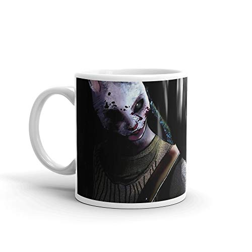 Dead by daylight (Huntress) 11 Oz White Ceramic