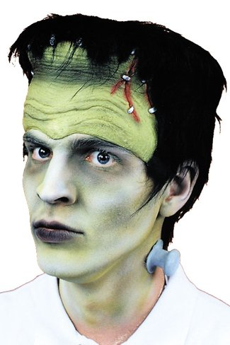 Herman Munster Mask (WMU Monster Headpiece Hair And Bolts)