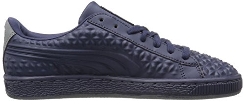 4 Men's Peacoat Basket US Peacoat Classic Puma M Fashion Sneaker Dia 5 Emboss nx8znWFag