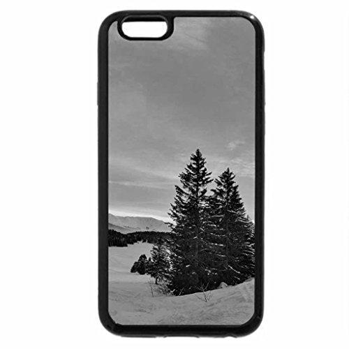 iPhone 6S Plus Case, iPhone 6 Plus Case (Black & White) - beautiful