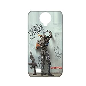 Defender Phone Case For Kids For Samsung S4 Printing With Chappie Choose Design 1-3