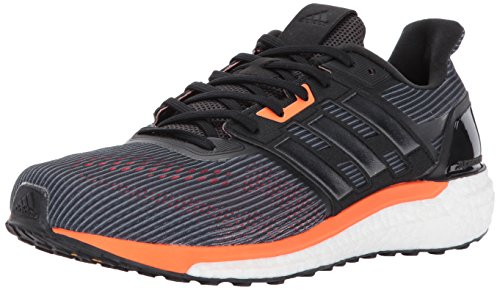 huge discount f85ba a967e adidas Mens Supernova m Running Shoe, Utility BlackBlackSolar Orange, 9.5