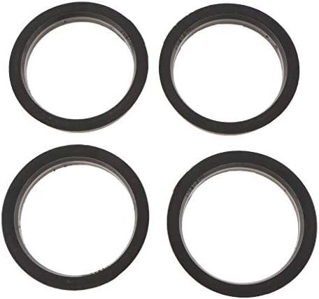ハブリング 4枚セット 汎用 ステアリングのブレや振動を抑制! 全3サイズ - 外径73.1-内径60.1