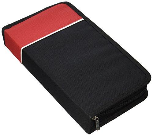 UPC 642078488276, Boostwaves Premium PU Leather Vinyl 128 CD/DVD Media Wallet Folder Carrying Case, Assorted Colors